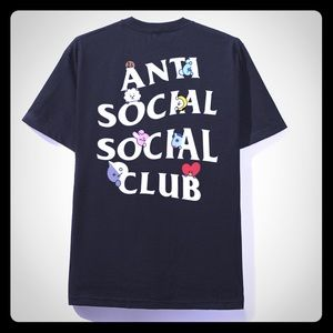 ANTISOCIAL SOCIAL CLUB  COLLAB WITH BT21 Tee